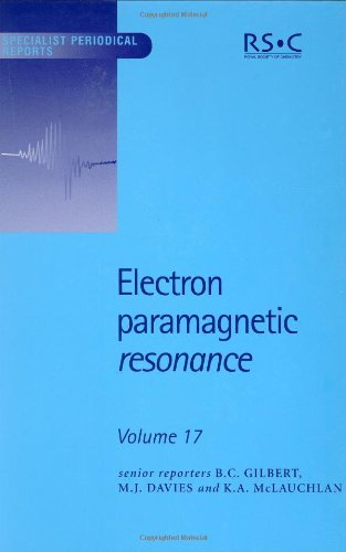 Electron Paramagnetic Resonance: Volume 17 (Specialist Periodical Reports)