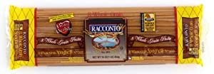 Racconto 8 Whole Grain Spaghetti, 16-Ounce Packages (Pack of 20)