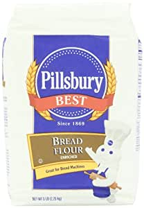 Amazon.com : Pillsbury Best Bread Flour, 5 Pound : Flour