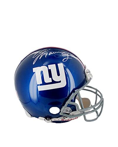 Steiner Sports Memorabilia Eli Manning Autographed New York Giants Authentic Full Size Helmet