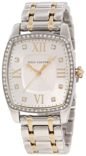 Juicy Couture Women's 1900976 Beau Two Tone Bracelet Watch
