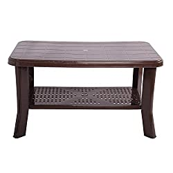Cello Oasis Four Seater Centre Table (Sandalwood Brown)
