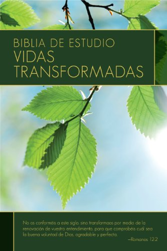 Holy Bible: Biblia de estudio / Study Bible - Vidas transformadas / Lives Transformed