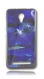 BlueArmor Back Soft Cover Case for Swipe Elite Design 90