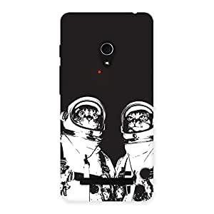 Cat Astro Back Case Cover for Zenfone 5