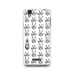 Mobicture Flying Rabbit Premium Printed Case For Micromax YU Yureka A05510