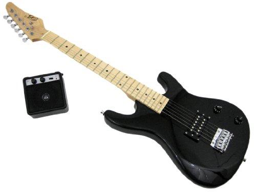"36"" Black Electric Guitar Kit W/ 5 Watt Amp - Rock Box"