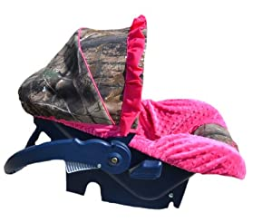 Pink Camo Baby Car Seat Covers