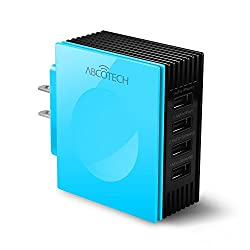 Abco Tech Multiple USB Charger - USB Wall Charger with Multiple USB Ports - 4 ports...