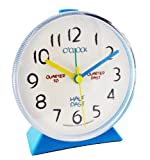 "Kids ""Tell The Time"" Alarm Clock Colour: Blue"