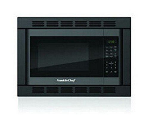 Rv Trailer Camper Convection Microwave 1.0 Cu.Ft. Black W/Trim Fr185B-Con front-25886