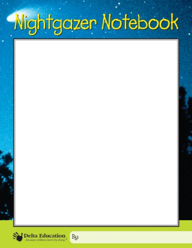 "Delta Education Nightgazer Notebook, 8-1/2"" x 11"" Size (Pack of 10)"
