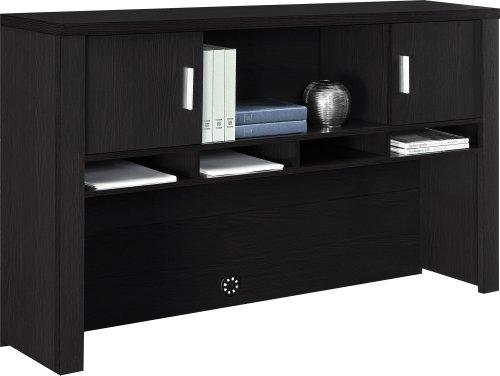 Altra Princeton Hutch Espresso Furniture Office Furniture