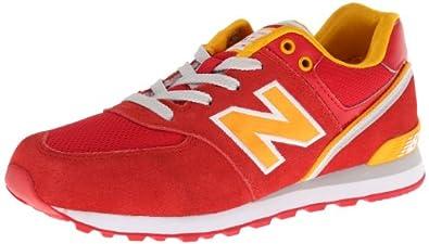 New Balance KL574 Grade Lace-Up Running Shoe (Big Kid) by New Balance