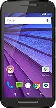 Motorola Moto G 3ème génération Smartphone débloqué 4G (Ecran: 5 pouces - 16 Go - 2 Go RAM - Simple Micro-SIM - Android 5.1 Lollipop) Noir