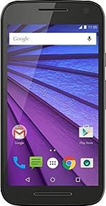 Motorola Moto G 3ème génération Smartphone débloqué 4G (Ecran: 5 pouces - 8 Go - 1 Go RAM - Simple Micro-SIM - Android 6.0 Marshmallow) Noir