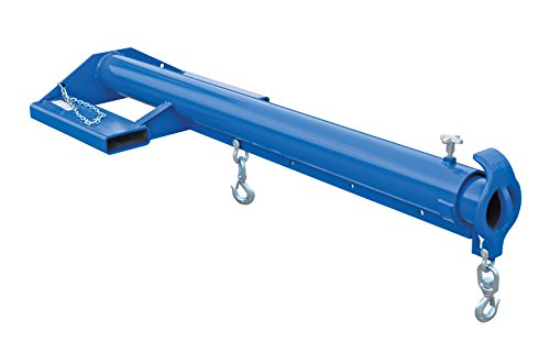 Vestil LM-EBT-6-24 Steel Telescoping Lift Master Economy Boom, 6000 lb. Capacity, Blue Overall LxWxH (in.) 32 x 86.25 x 13, Overall Extended Length (in.) 153-3/4 (Vestil Lift Master compare prices)