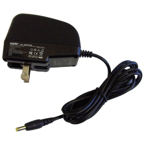 HQRP Wall Travel AC Power Adapter / Battery Charger compatible with Sony PRS-600 / PRS-600BC / PRS-600RC / PRS-600SC eBook Reader Replacement plus HQRP Coaster from Electronic-Readers.com