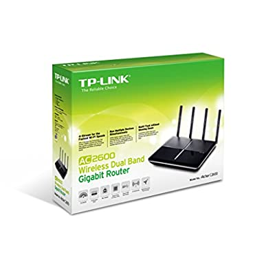 TP-Link Archer C2600 Wi-Fi Router (Black)