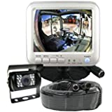 5 LCD Color Rear View Backup Camera System For RVs Motorhomes Trucks Vans Commercial Vehicles