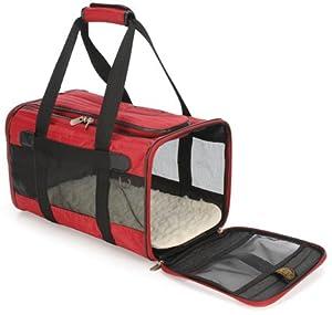 Sherpa Pet Carriers Original Deluxe Medium Red