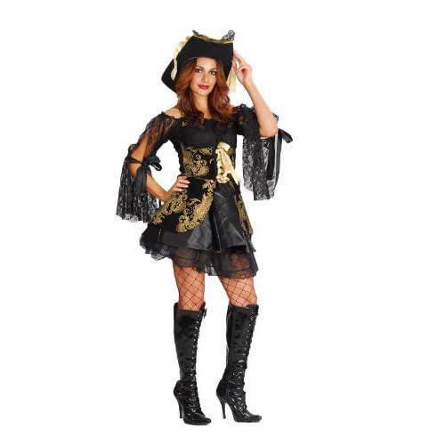 Glamorous Pirate Woman Costume