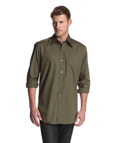 Dolce & Gabbana Men's Solid Dress Shirt