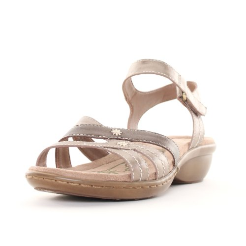 Bronze Wedge Sandals front-1027413