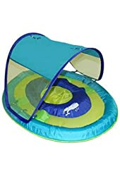 SwimWays Baby Spring Float Sun Canopy, Blue