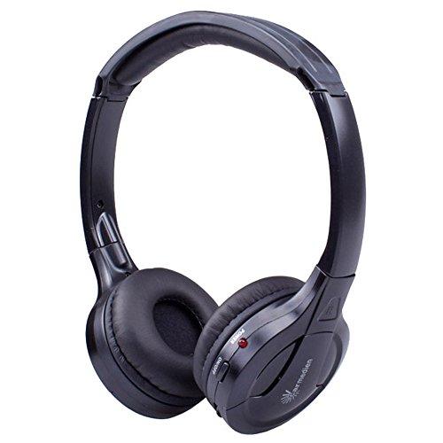 Stereo-Infrarot-Kopfhrer-schnurloses-IR-Headset-Auto-Car-DVD-Multimedia-System-Monitor