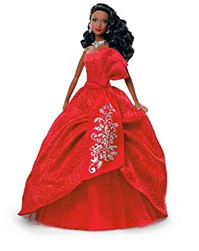 Barbie Collector 2012 Holiday African-American Doll by Mattel TOY (English Manual)