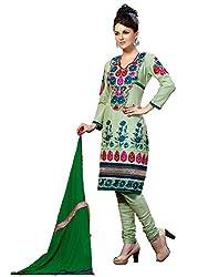 Cenizas embroidered Semi Stich Salwar Suit Duptta (2007)