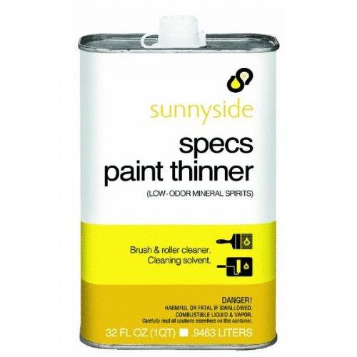 QT Specs Paint Thinner Quantity 12 tokyobay specs t366 wh