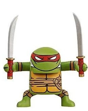 Picture of NECA Teenage Mutant Ninja Turtles Stylized Figure BATSU Leonardo (B002XOAP60) (TNMT Action Figures)