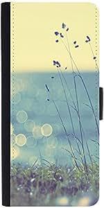 Snoogg Coast Grass Sunshine Designer Protective Phone Flip Case Cover For Samsung Galaxy J7