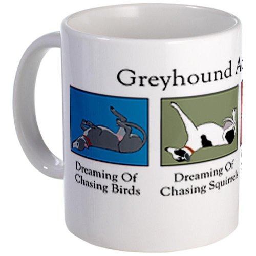 Cafepress Greyhound Activity Guide Mug - Standard