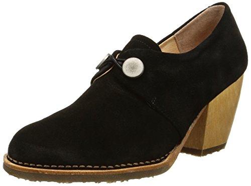 NeosensVerdil 510 - Stivali alla caviglia Santiags Donna , Nero (Black (nero)), 37 EU
