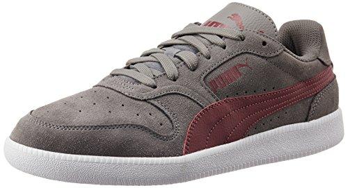 Puma Icra Trainer SD, Unisex-Erwachsene Sneakers, Grau (steel gray-cabernet 12), 42 EU (8 Erwachsene UK) thumbnail