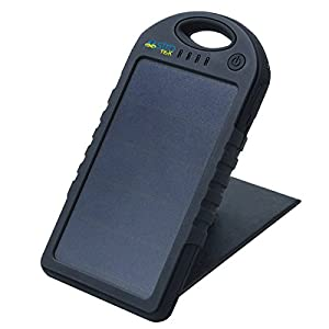 Best Solar Cell Phone Charger New Upgraded Dual Panel Design-Highest Efficiency-Weather Proof, Dual USB, LED Torch Light **100% Money Back Guarantee** from Educating Wellness