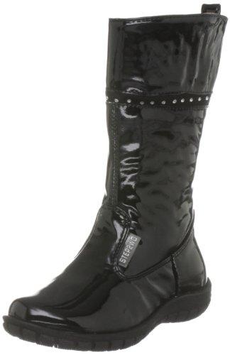 Step2Wo Junior Keola Manmade A-Black Classic Boot S2 0216293 11 Child UK, 29 EU, 12 US