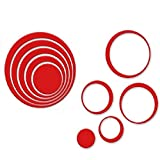 eenkula-5PC-Cratif-Bricolage-Mur-Stro-Autocollants-3D-Cercles-Amovibles-Mur-Dcalques-Autocollants-Mariage-Maison-Dcorations-Rouge