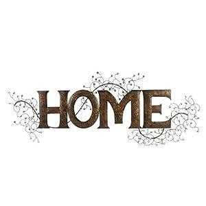 Widdop MWA227 Home Metal Wall Art 40 X 108 X 2 CM Rust