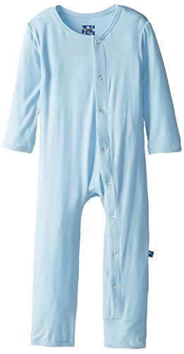 Kickee Pants Coverall, Pond, 3-6 Months front-245134
