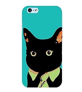 Funny Cat 3D Hard Polycarbonate Designer Back Case Cover for Apple iPhone 6