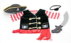 Melissa & Doug Pirate Costume Role Play Set by Melissa & Doug