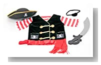 Melissa & Doug Pirate Costume Role Play Set