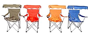 VMI Folding Chair with Canopy, Assorted colors from American Maid VM International
