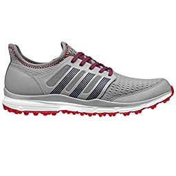 adidas Men\'s Climacool Golf Spikeless, Mid Grey S14/Night Marine/Power Red F05, 11 M US