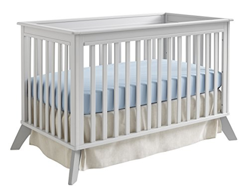 Sealy Bella Standard Crib, Tranquility Gray - 1