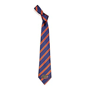Florida Gators NCAA Poly Woven Tie - Poly 1 Style